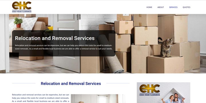 Essex house clearance and removals service