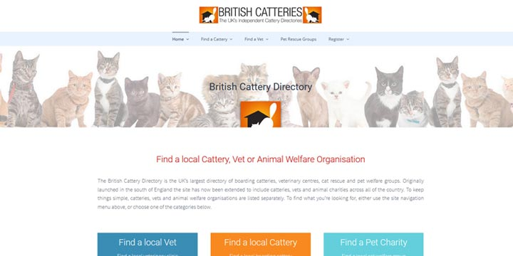 British Cattery Directory